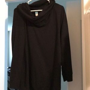 Old navy cowl neck style maternity sweatshirt